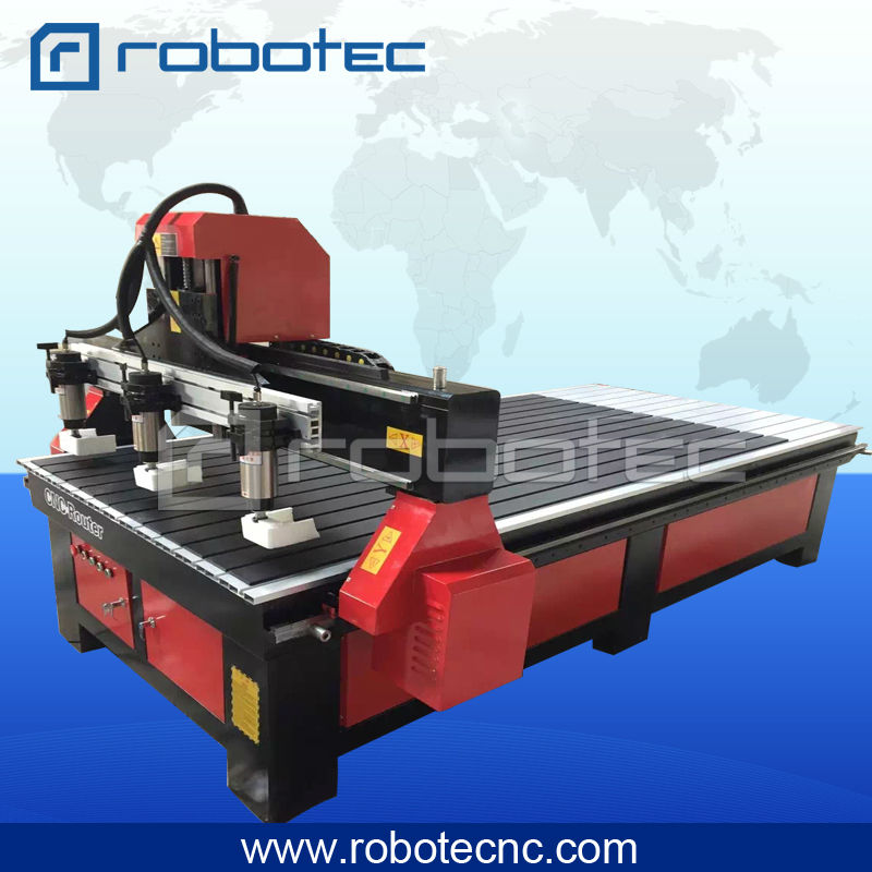 European Quality 1500*2000mm Movable Table Rotary Axis Wood Cnc Router Multi-heads