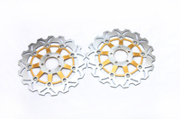 Motorcycle Front Brake Disc Rotors For KAWASAKI ZX6R NINJA F1 F3 Ninja ZX6R ZX600F G937