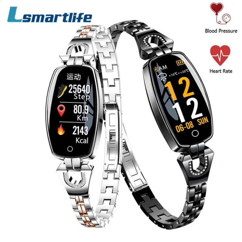 H8 Smart Bracelet Women Wristband Blood Pressure Heart Rate Monitor Fitness Tracker IP67 Waterproof Smart Band Female Smartwatch bracelet