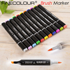 6 12 24 36 P Colors Brush Marker Pen Finecolour Three EF102 Commonly Used Sketch Marker