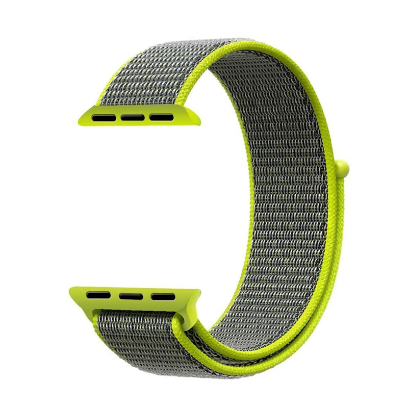 ASHEI Replacement Strap For Apple Watch 42mm Band Nylon Series 3 38mm Fabric nylon bands Sport Bracelet For Iwatch Series 1/2 survival nylon bracelet brown