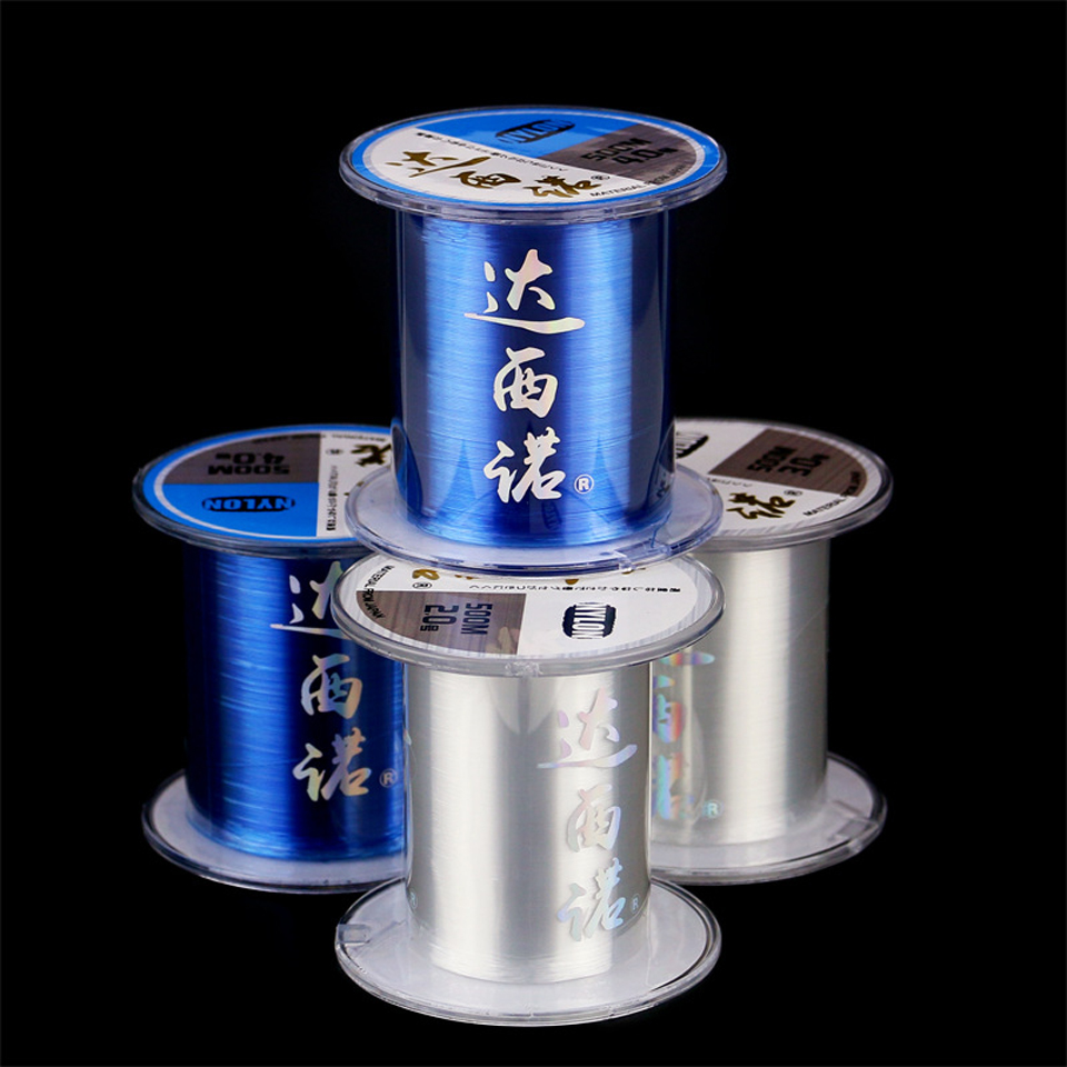 Wifreo 500m Super Strong Japan Monofilament Nylon Fishing Line Spool Material for Carp fishing