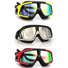 Adult Swimming Goggles HD Anti-Fog Oversized Frame Silicone Plating Flat Mirror Unisex Swimming Goggles aryca 2 5 diopters silicone pc swimming goggles black