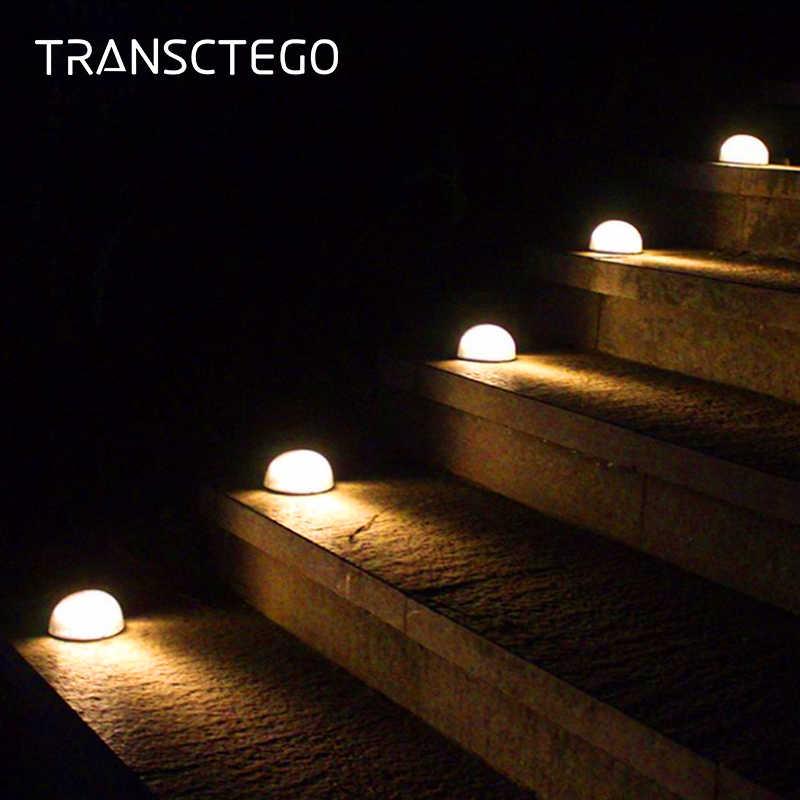 Led Solar Light Garden Step Lights