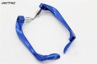 Universal 22mm Motorcycle Bar End Protective CNC Aluminum Lever Guard Protector For Suzuki GSX1300R Hayabusa GSX1300 B King