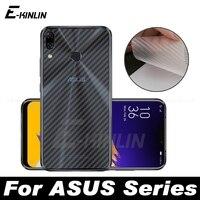 Pellicola proteggi schermo in fibra di carbonio 3D per Asus ZenFone 7 5 5Z 6 ZS670KS ZS671KS ZS630KL ZS620KL ZE620KL Non in vetro