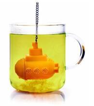 Food-grade Silicon Tea Strainer Gel Tea-making Apparatus Submarine  Silica Bag Novelty Leaker