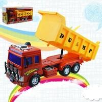 1 Pcs Car toy Engineering vehicles dump truck model toys super big plastic Diecast Metal Modle Gift For boys Kids children new