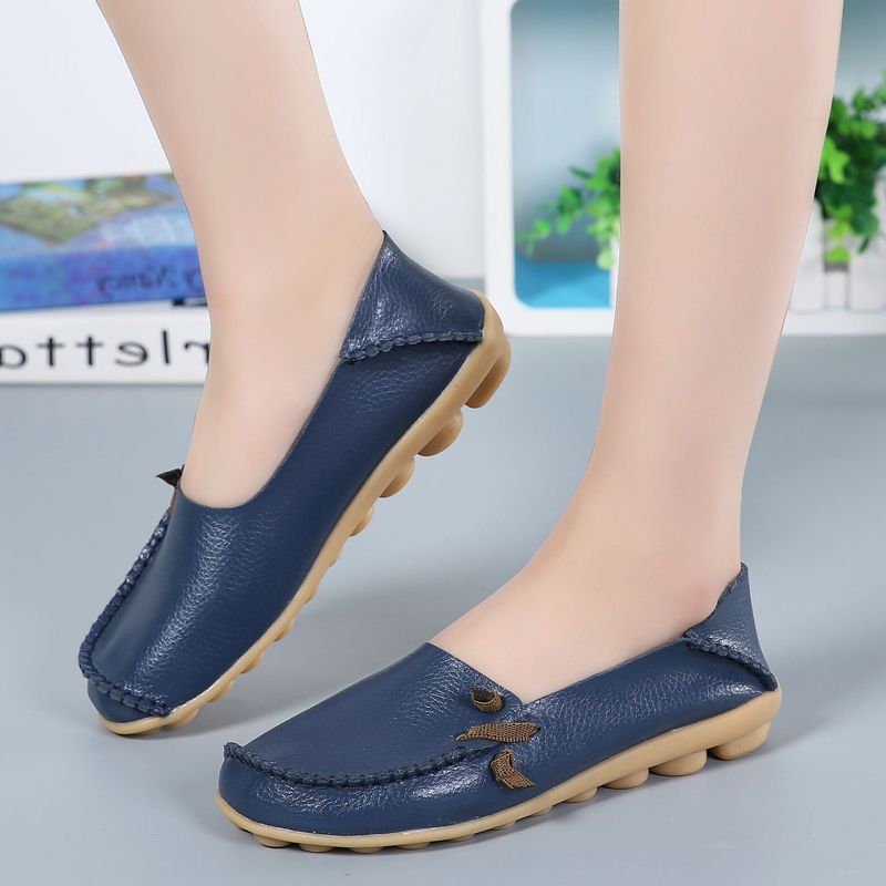 2018 New Casual Women Flats Fashion Summer Beach Shoes Moccasins Women Walking Loafers Soft Breathable Ladies Flats Shoes DBT712 yiqitazer 2017 new summer slipony lofer womens shoes flats nice ladies dress pointed toe narrow casual shoes women loafers