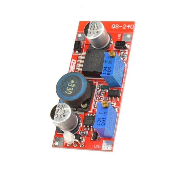 1PCS LM2596 DC-DC Step-down Adjustable CC/CV Power Supply Module Converter LED driver 1pcs 1500w 30a dc dc cc cv boost converter step up power supply charger adjustable dc dc booster adapter 10 60v to 12 90v module
