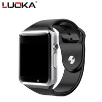 LUOKA A1 Smart Watch With Passometer Camera SIM Card Call Smartwatch For Huawei Xiaomi HTC Android