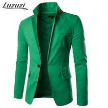 Пиджак, повседневный приталенный однотонный мужской твидовый пиджак, мужской пиджак и костюмы, пиджак, мужской пиджак WS2582