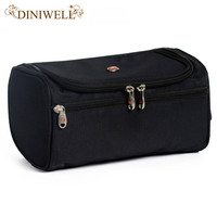 DINIWELL Large Waterproof Makeup Bag Polyester Travel Cosmetic Bag Organizer Case Necessaries Make Up Wash Toiletry