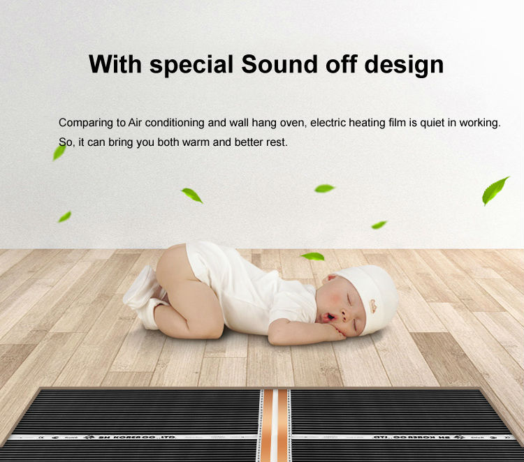 Aliexpress.com : Buy 20M2 Koread Floor Heating Films No Customs Fees To Europe 0.5MX40M, 220V 240VAC 220W/M2 from Reliable film suppliers on TF Underfloor ...