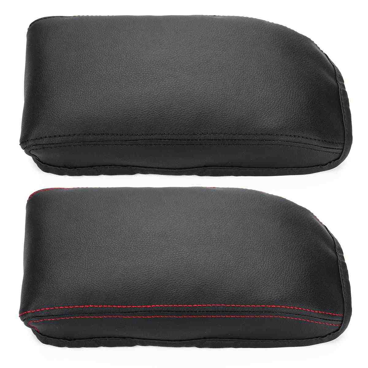 PU Leather Car Center Armrest Arm Rest Box Case Cover Cushion Pad For Skoda Octavia A7 2015 2016 2017 2018