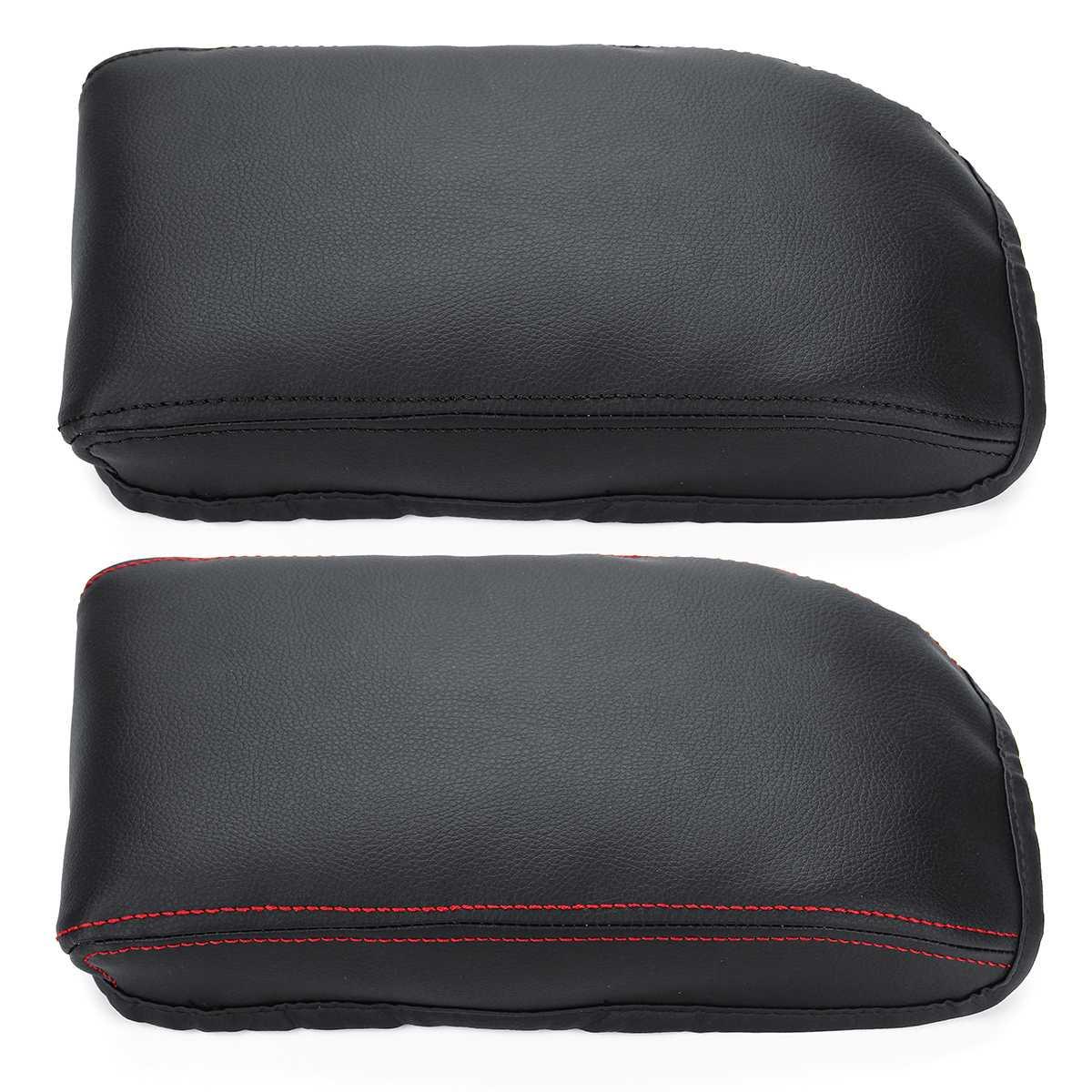PU Leather Car Center Armrest Arm Rest Box Case Cover Cushion Pad For Skoda Octavia A7 2015 2016 2017 2018