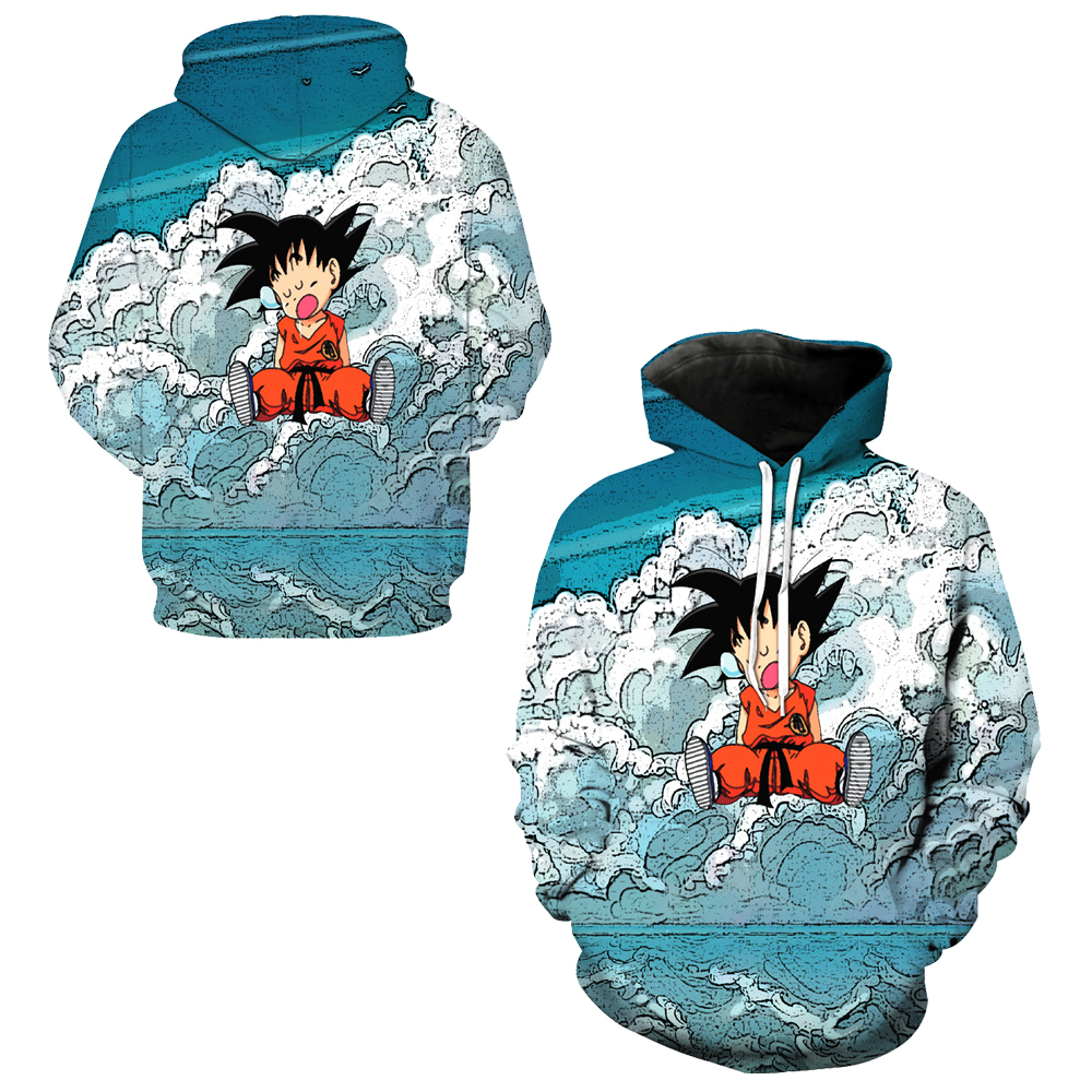 100% Wahr Nettes Kind Goku Cosplay Sweatshirts Männer Herbst Skateboard Hoodies Dragon Ball Z Hoody Outdoor Training Mit Kapuze Tops Pullover