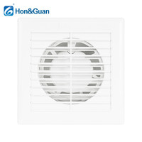 4 Inch Silent Ventilator Bathroom Exhaust Fan Ventilating Air Extractor Fan Grill for Window Wall Toilet Kitchen Mounted 220V