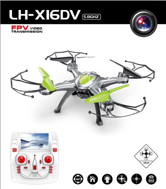 New LH-X16 6-Axis Professional FPV RC Drone Hexacopter UAV 3D Roll Real-time Transmission Quadcopter 2.0MP camera four version fpv x uav talon uav 1720mm fpv plane gray white version flying glider epo modle rc model airplane