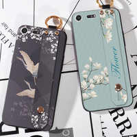 Blume Vogel Neue Fälle Für Sony Xperia XZ1 Kompakte XZ2 M5 Weiche Silikon Abdeckung Fälle Für Sony Xperia Z5 XZ premium F8332 Zurück Fall