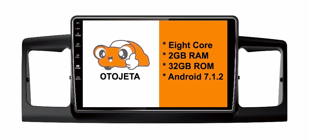Eight Core Android 7.1.2 OTOJETA car dvd FOR toyota COROLLA-EX 2007- HEAD STEREO Touch screen radio BT gps 1080p DVR/WIFI/3G/4G