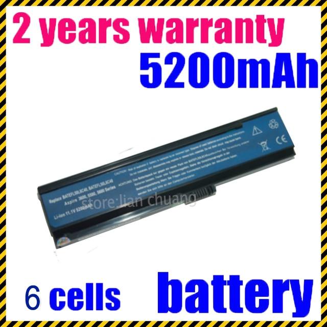 JIGU NEW 6 CELLs Laptop Battery For Acer Aspire 3030 3050 3200 3600 3680 5050 5500 5504 5570 5570Z 5580 black