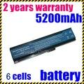 Jigu nueva 6 celdas de batería portátil para acer aspire 3030 3050 3200 3600 3680 5050 5500 5504 5570 5570Z 5580 negro