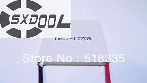 SXDOOL Cooling TEC Peltier Module TEC1 12709 Thermoelectric Cooler Qcmax 85 9W 40x40x3 8mm