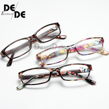 Reading Glasses Men Fashion Clear Lens Plastic Eyewears Light Women Color Eyeglasses Presbyopic Diopter Magnifier