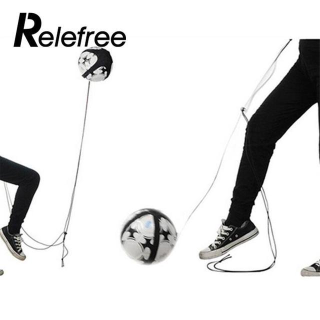 Soccer Ball Juggle Bags Children Auxiliary Circling Belt Kids Football Training Equipment Kick Solo Soccer KickTrainer