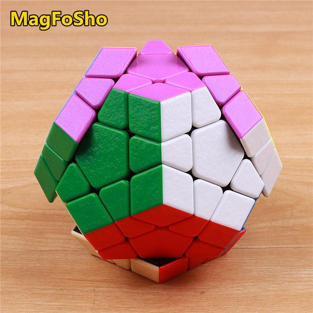 Shengshou MagFoSho Megaminxeds Magic Cube Speed Puzzle Cubes sticker less anti stress toys professional 12 sides cube 5