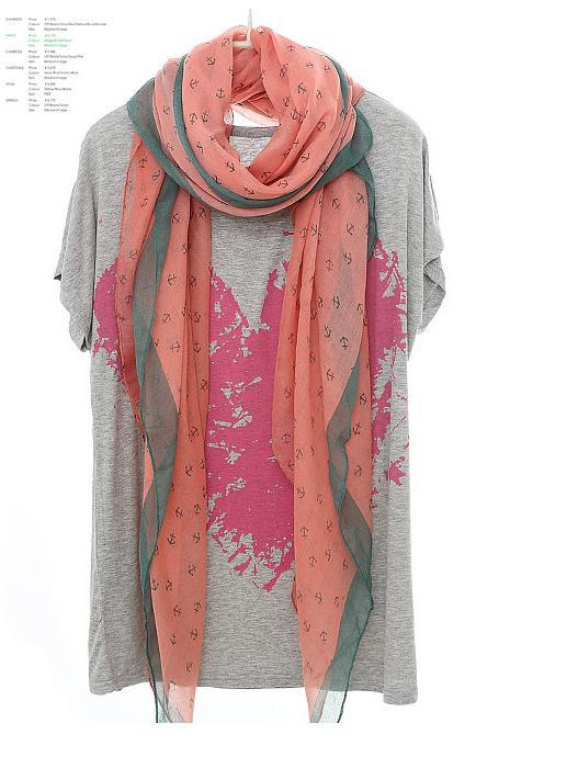 New 2014 Fashion Women Summer Spring Scarf Women Print