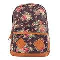 Vendas Hot New Design Bohemia Lona Mulheres Mochilas Moda Escola Sacos Senhoras Saco Da Forma Laptop Mochila Mulheres Sacos Jan22