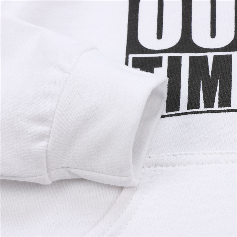 HTB1dkgFaK7EWeJjSZFMq6x00FXaX - Stylish Young Kids Cotton Hoodie Long Sleeve Sweatshirt with Letter Print Front