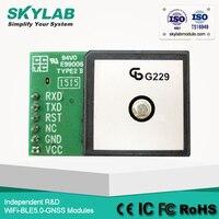 MediaTek MT3339 SKYLAB SKM53 Ultra yüksek hassasiyet ile-165dBm 6-pin UART GPS seramik anten modülü