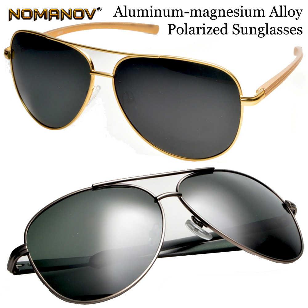 a6b5d7b73c5 Oversized Al-mg Men Women Polarized Sunglasses Sun Glasses Lightweight High  Strength Anti-corrosion