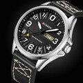 Мужские спортивные часы CURREN  повседневные кварцевые наручные часы с датой  армейские часы
