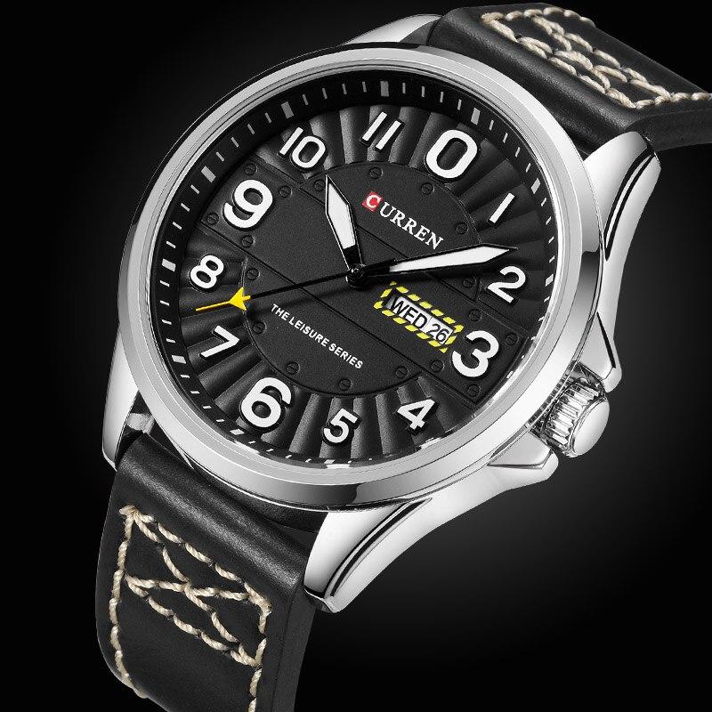 Men Watches CURREN Sport Watches for Men Casual Quartz Date Wristwatches Military Relogio Masculino Clock Men Montre Homme