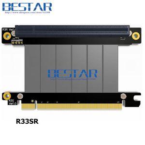 Image 4 - Coude Design Gen3.0 PCI E 16x à 16x3.0 Riser câble 5cm 10cm 20cm 30cm 40cm 50cm ic express pcie X16 Extender à Angle droit