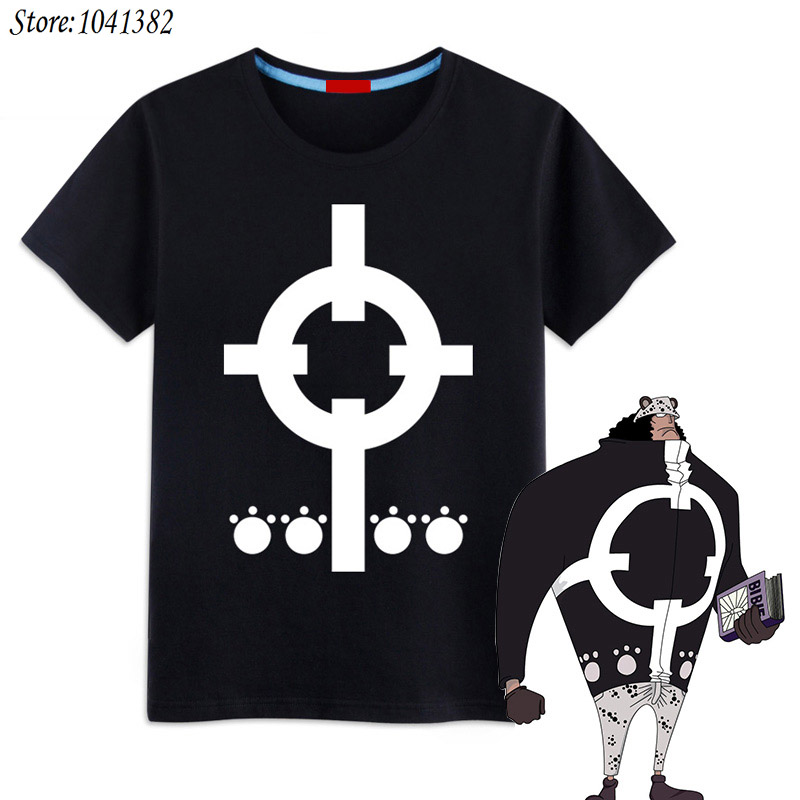 XHTWCY One Piece Logo T Shirt Ace Luffy 7 Farben Anime Figur Kurzarm Herren Shirts COSPLAY In