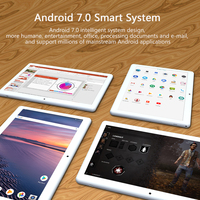 black silver ANRY Tablet 10.1 Inch Android 7.0 3G Phone Call GPS Wifi Bluetooth Tab Pc Quad Core 4 GB RAM 32GB ROM Gold/Black/Silver For Kids (4)