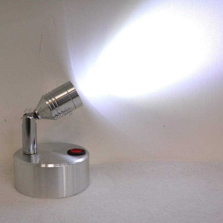 AAA батарейка маленькие прожекторы настенные светильники светодиодные фонарик батареи лампы беспроводной лампа настольная лампа витрина с...