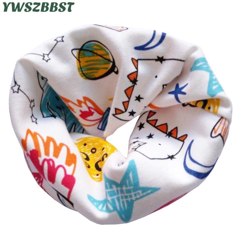 New Fashion Cotton Baby Scarf Autumn Winter Boys Girls Scarf Baby Bibs Kids O Ring Collar Children Scarves Magic Neckerchief
