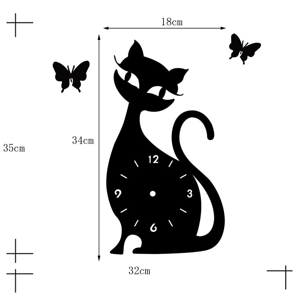Harga Dan Spek Fantasy Rail Shower 100cm White Update 2018 Whiskas Dry 12kg Makanan Kucing Kering Rasa Grilled Saba S Black Cat Wall Clock Mirror Originality Personality Wag On The
