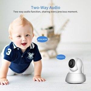 Image 2 - SDETER Drahtlose WiFi Kamera IP 1080P 720P Pet Kamera Sicherheit CCTV Überwachung Kamera P2P Nacht Vision Baby Monitor indoor Cam