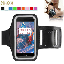 Oneplus 3T Waterproof Sport Arm Band Leather Case for Oneplus Three OnePlus 3T 3 2 1 One Plus Tab Deportivo Sport Runing Arm Bag