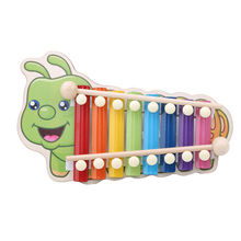 Rainbow Wooden Xylophone Instruments Children Musical Puzzle Toys Kids Music Instrument Learning Education Toys for Children