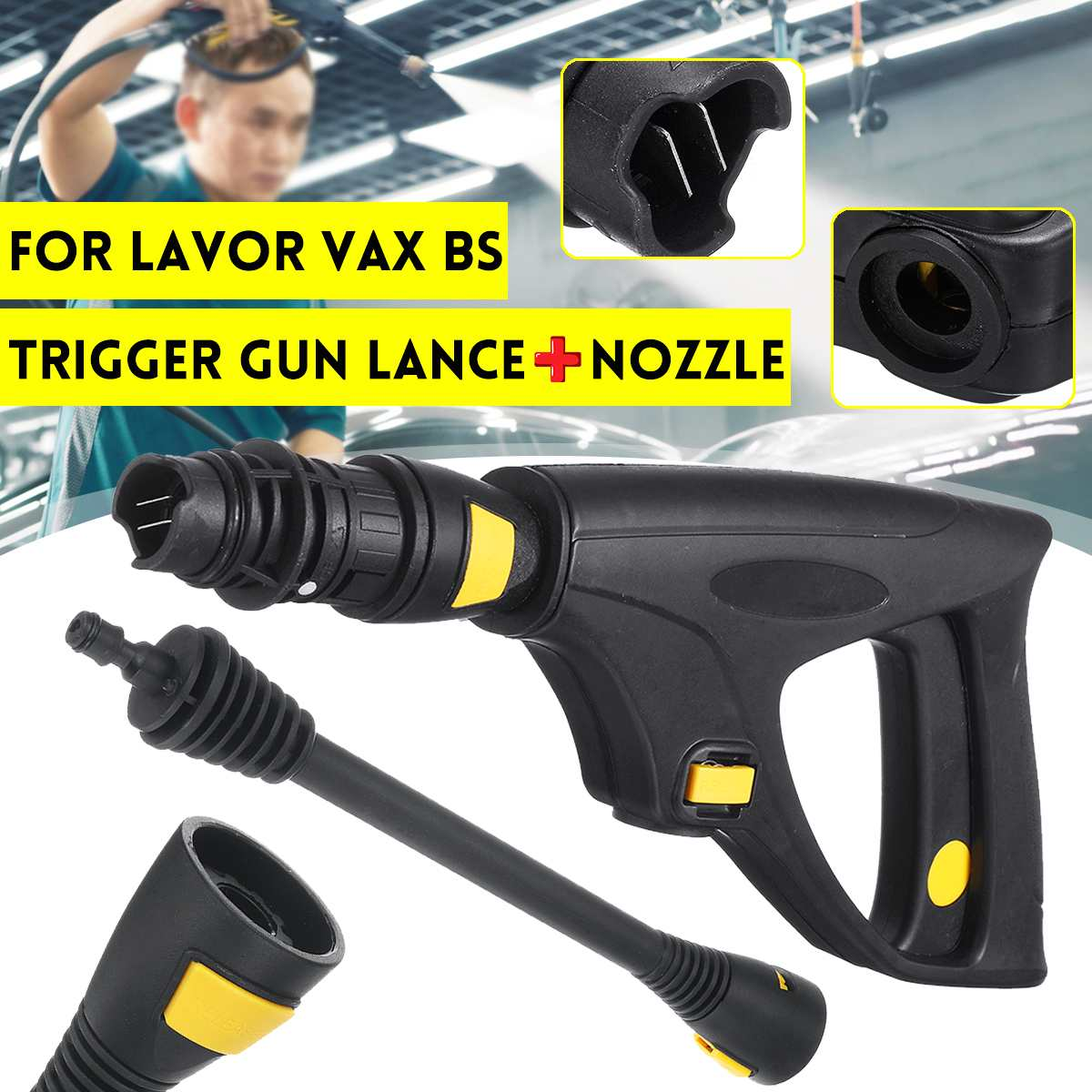 Pressure Washer Trigger Guns Lance + Nozzle 160Bar/16Mpa For LAVOR VAX BS