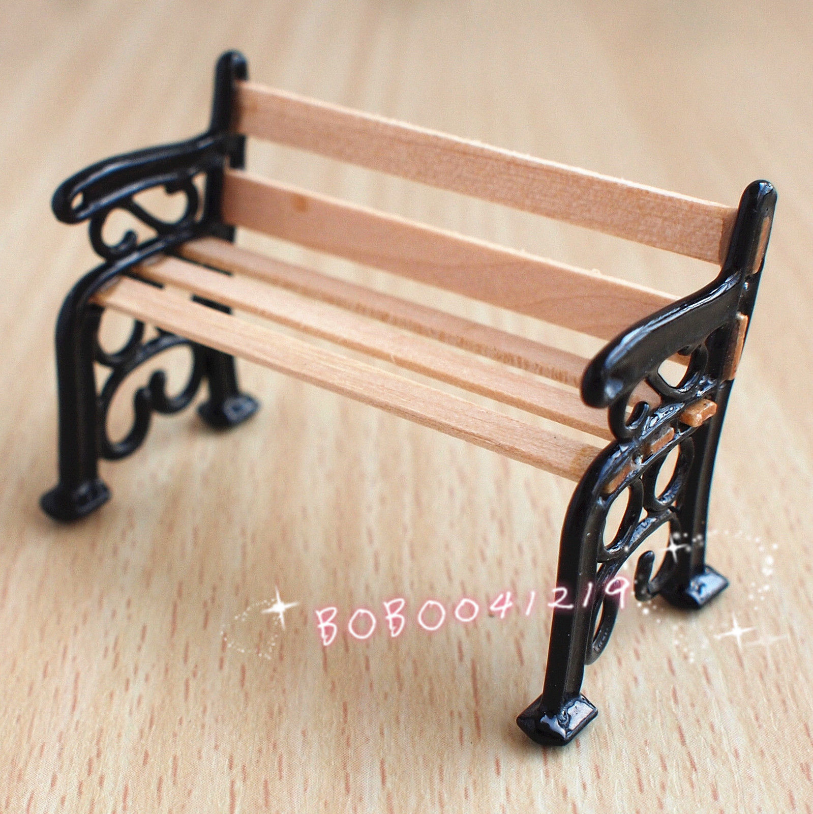 Dollhouse Miniature 1:24 Super Mini Wood U0026 Metal Small Garden Bench Length  5cm J8 In Doll Houses From Toys U0026 Hobbies On Aliexpress.com | Alibaba Group