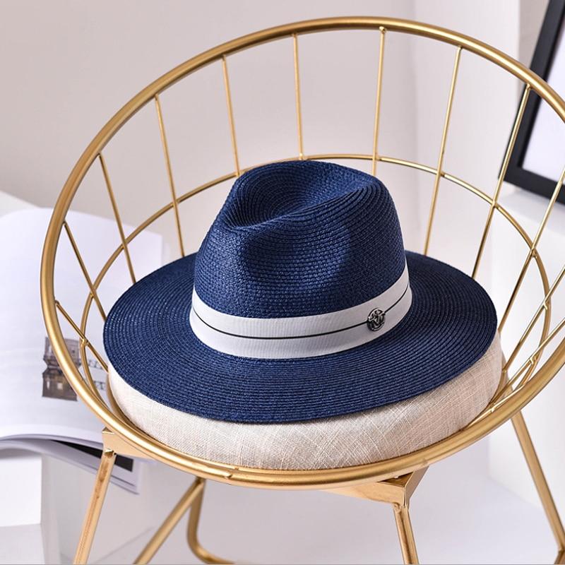 Ymsaid ocasional do Verão chapéus de sol para as mulheres carta moda M jazz  beach sun palha Panamá chapéu de palha para o homem Atacado e varejo em  Chapéus ... 314fc7a2f6